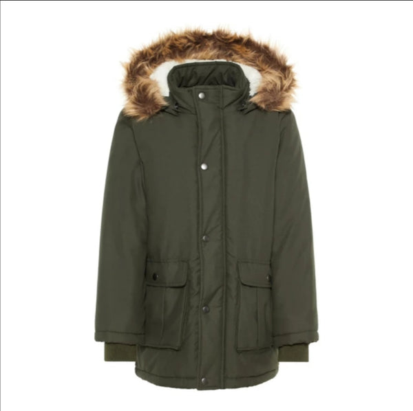 KidBoy Winter Khaki Parka