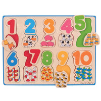 Number & Colour Matching Puzzle