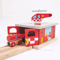 Fire Station Shed