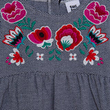 Miss Flower Fantasy Fabric Dress