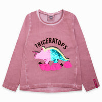 Tuc Tuc Dino Sequin Top