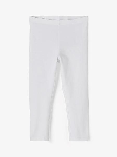 Girls Capri leggings - White