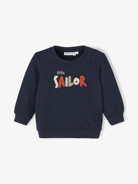 Baby Boy Sailor Sweatshirt