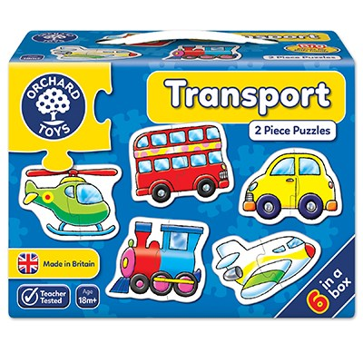 Transport 2 Piece Jigsaw