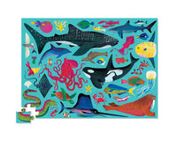 72pc Puzzle - Sea Animals