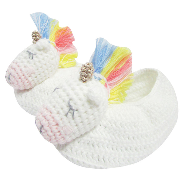 CROCHET UNICORN STAR BOOTIES
