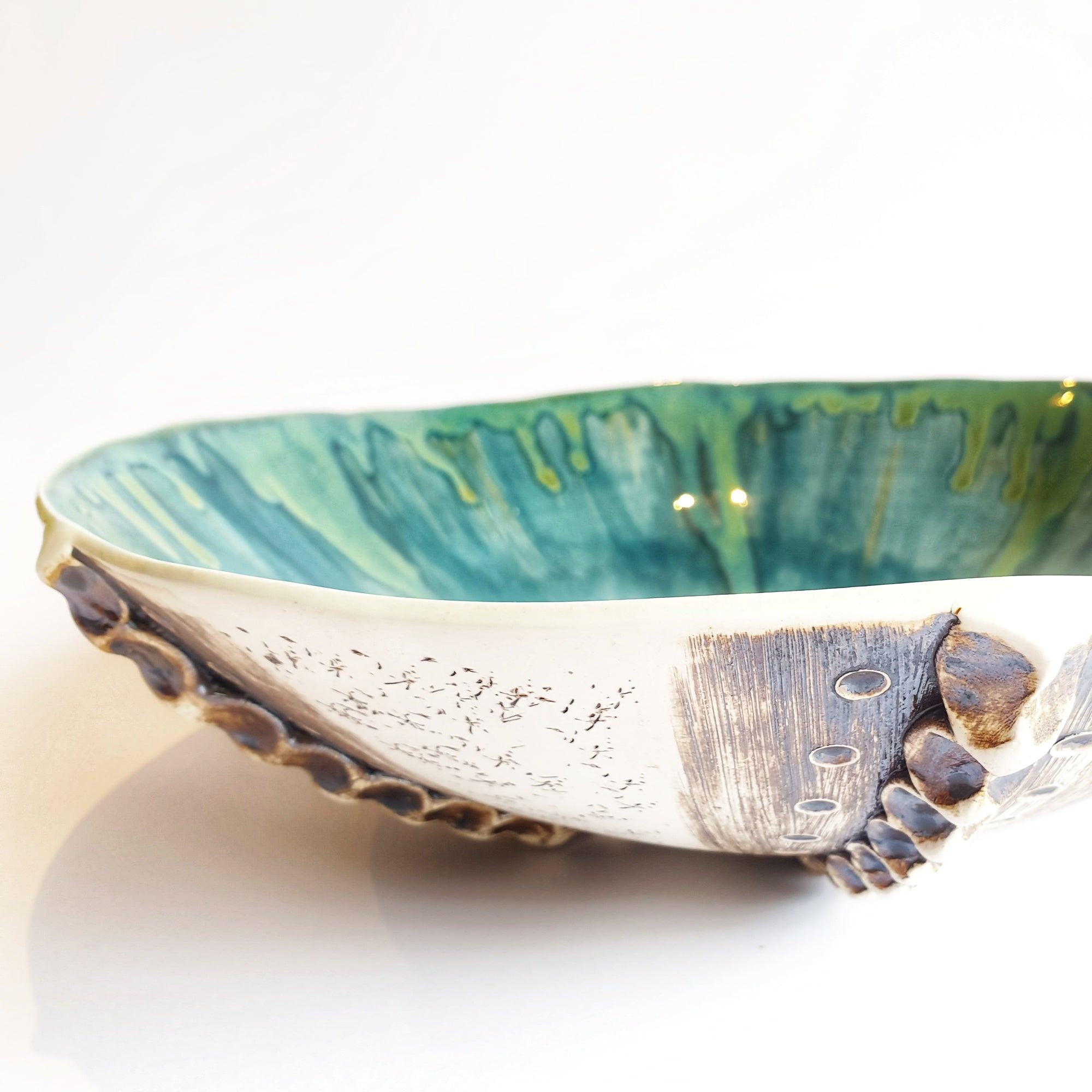 Large Sea Urchin Bowl (34 cm diameter) - Nada Spencer Ceramics