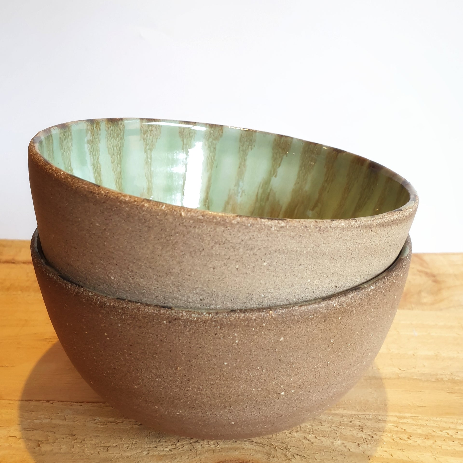 Breakfast bowls, set of 2 (14,5cm diameter & 7cm height) - Nada Spencer Ceramics