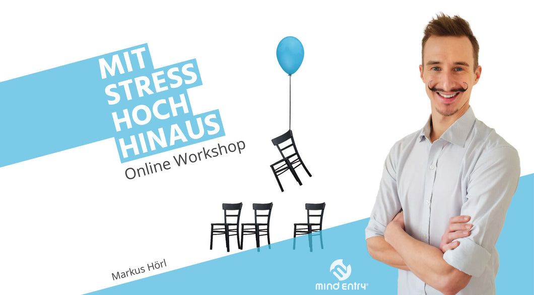 MArkus Hörl Mit Stress hoch hinaus Mind Entry Stressmanagement online Workshop Seminar Vortrag Stress
