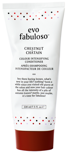 chestnut colour boosting treatment.