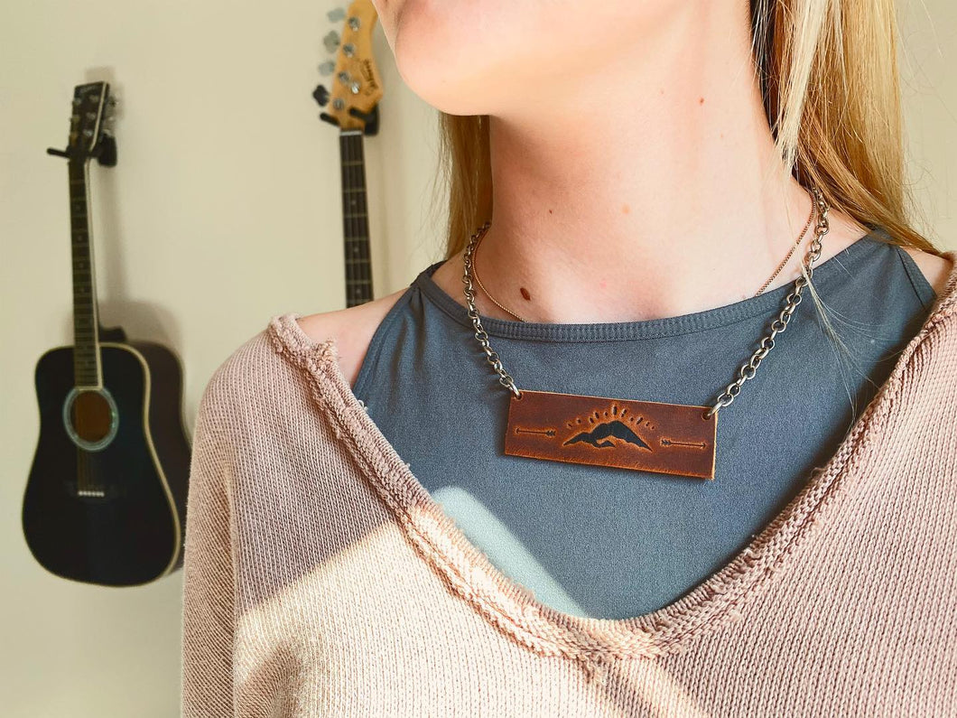 Mountain Bar Necklace