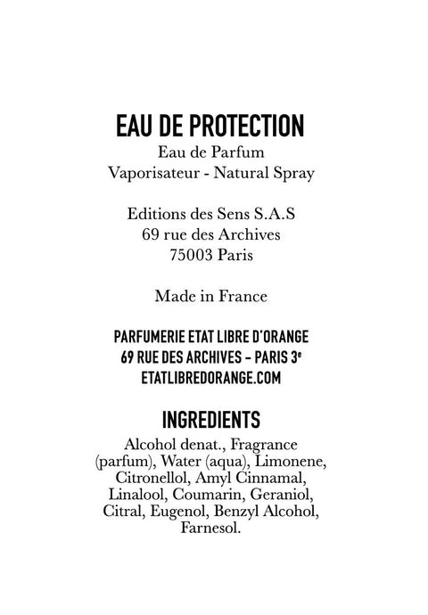 EAU DE PROTECTION