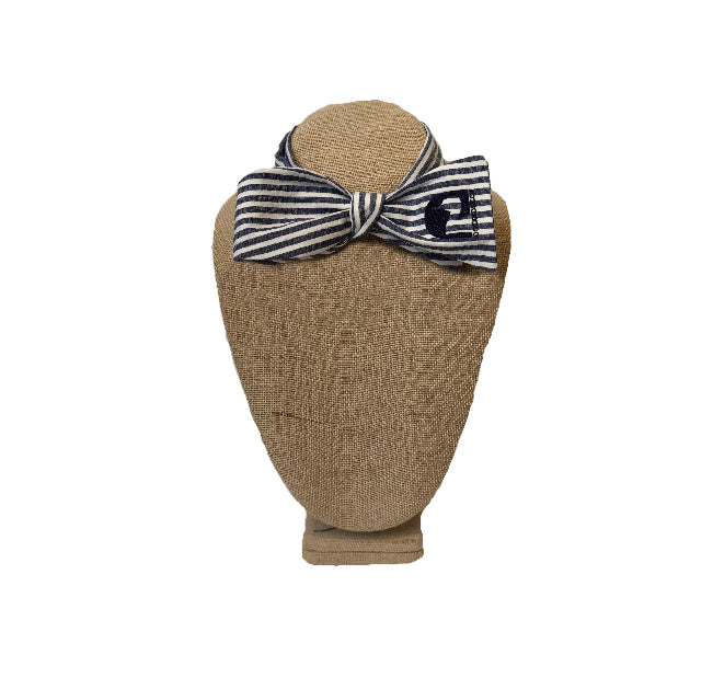 Dock Decoy Seersucker Bow Tie