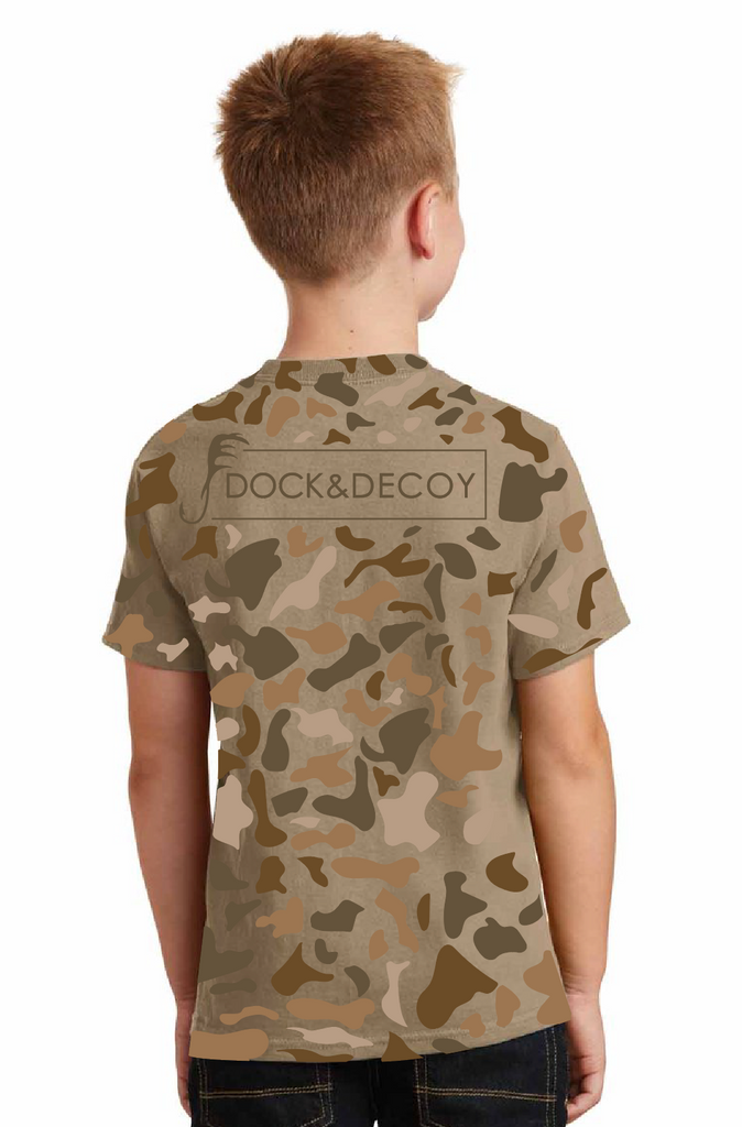 Dock Decoy Kids Camo