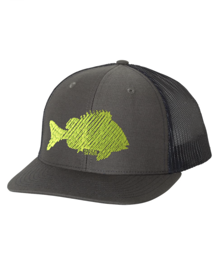 Dock Decoy Sheepies Hat Gray Navy