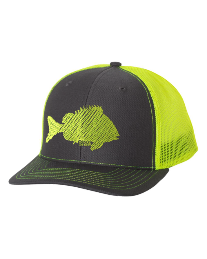 Dock Decoy Sheepies Hat Gray Yellow