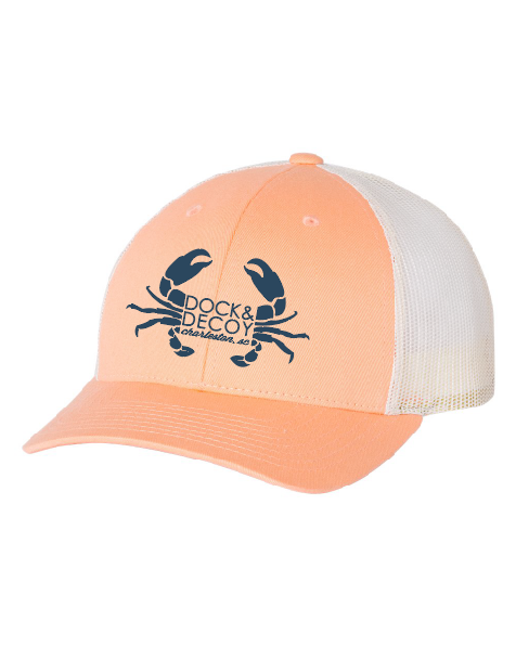 Dock Decoy Crab Hat orange