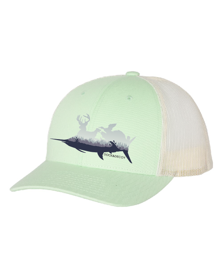 Dock Decoy Sportsman Hat green