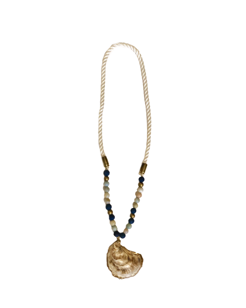 Dock Decoy oyster fishing Necklace