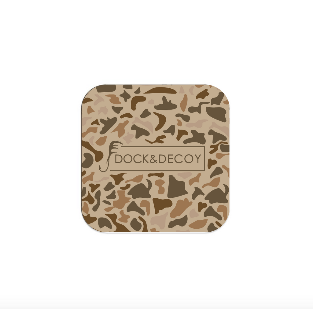 Dock & Decoy Camo Coasters