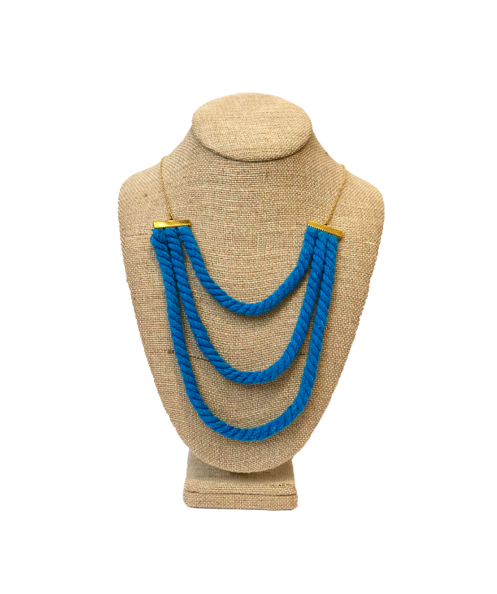 Soft Nautical 3 Line Necklace