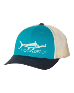 Dock Decoy Marlin Duck Hat