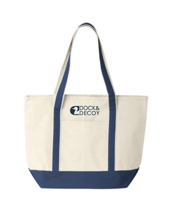 Dock Decoy Tote Bag