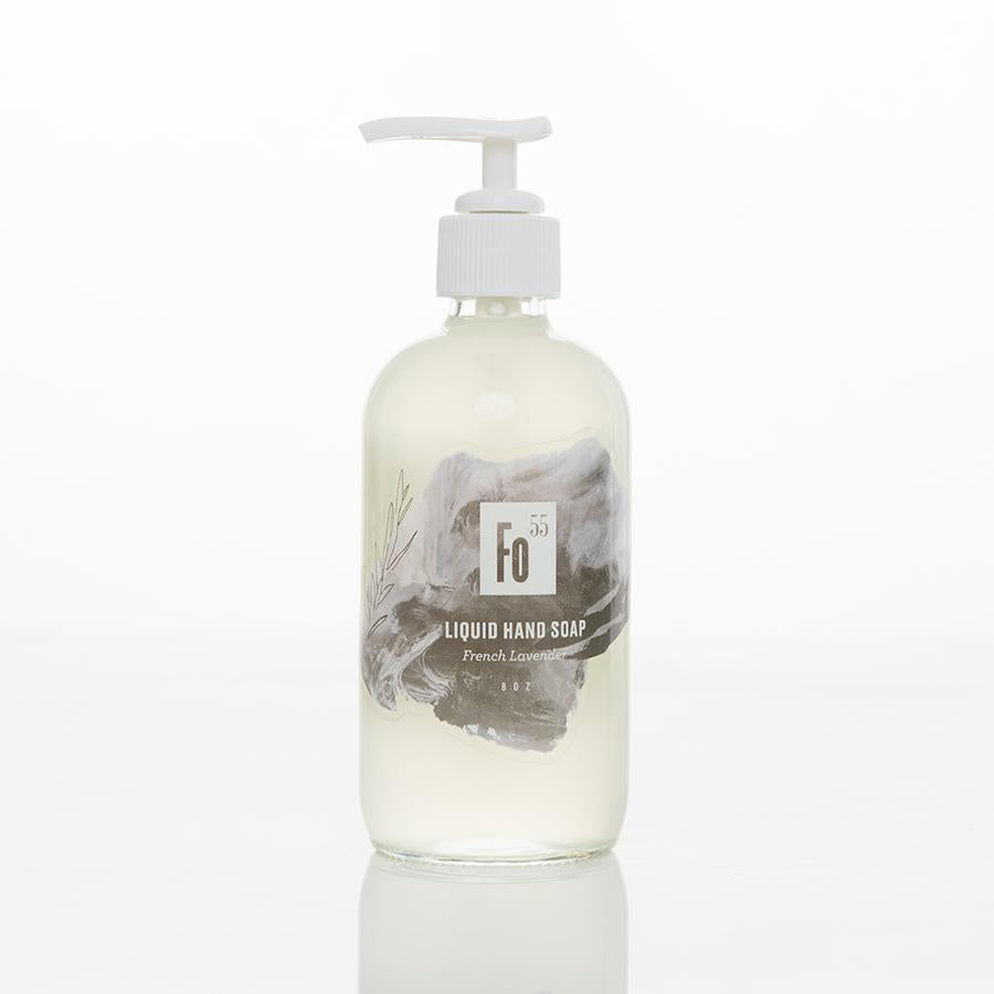 Liquid Hand Soap - French Lavender