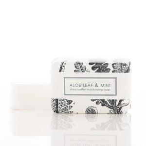 Shea Butter Soap - Aloe Leaf and Mint