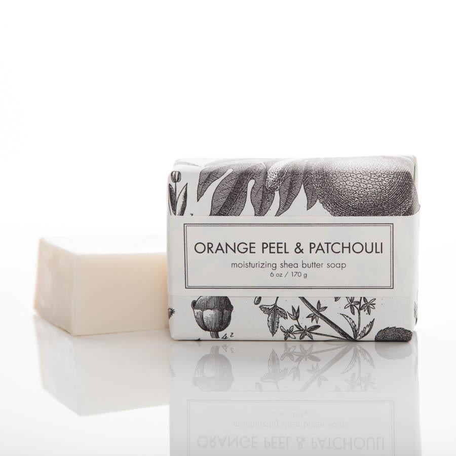 Shea Butter Soap - Orange Peel and Patchuli