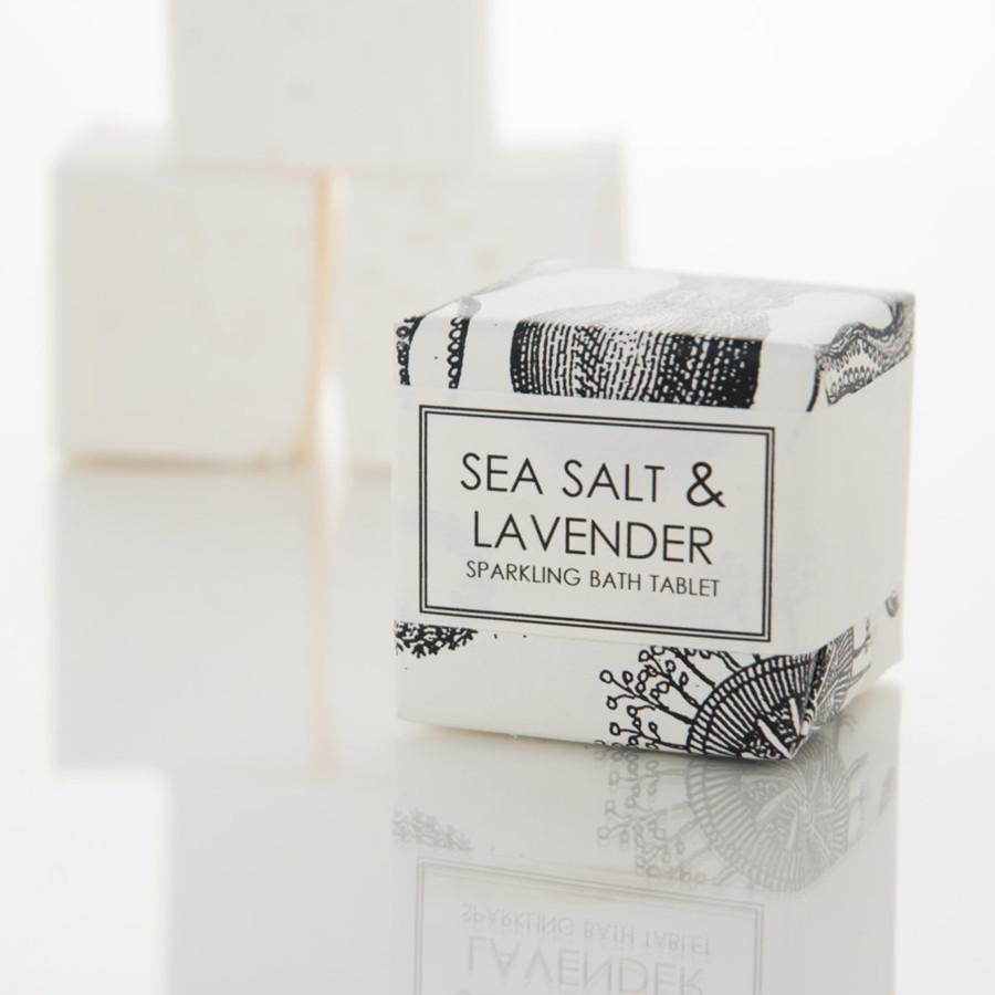 Sparkling Bath Tablet - Sea Salt and Lavender