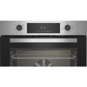 Beko CIMY91X Built In Programmable Multifunction Electric Single Oven - Stainless Steel