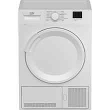 Load image into Gallery viewer, Beko DTLCE80041W 8kg Condenser Tumble Dryer - White - B Energy Rated