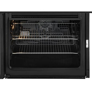 Beko EDC633K Black Double Oven Ceramic Hob Electric Cooker