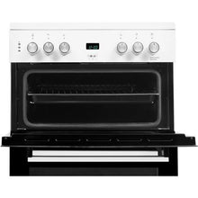 Load image into Gallery viewer, Beko EDC633W White Double Oven Electric Cooker