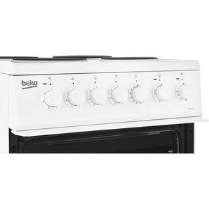 Beko EDP503W 50cm Electric Double Oven with grill Cooker - White - A Energy Rated