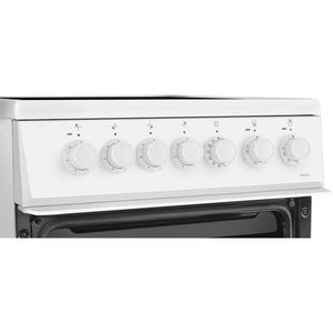 Beko EDVC503W Double Oven Electric Cooker