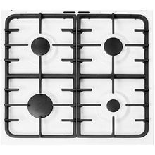Load image into Gallery viewer, Beko ESG50W White Single Oven/Grill 4 Burner Hob Gas Cooker