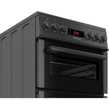 Load image into Gallery viewer, Blomberg HKS900N 50cm Double Oven Electric Cooker- Anthracite.  3 Year Guarantee