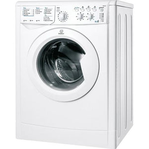 INDESIT IWDC6125 WHITE 6KG LOAD 1200 SPIN WASHER DRYER