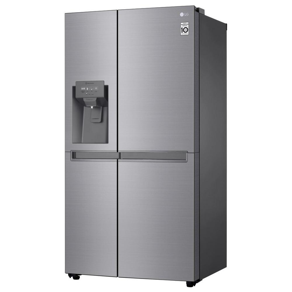 LG GSL480PZXV American Style Fridge Freezer - Shiny Steel - A+ Energy Rated