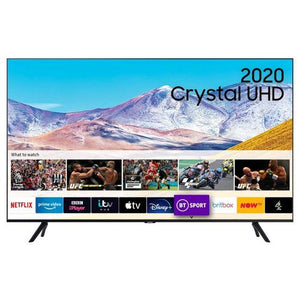 "Samsung UE65TU8000KXXU 65"" 4K UHD Smart TV - A+ Energy Rated"