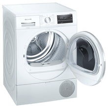Load image into Gallery viewer, Siemens WT47RT90GB 9kg iQ500 Heat Pump Tumble Dryer - White - A++ Energy