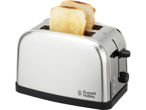 Russell Hobbs 18780 2 Slice FUTURA Toaster in Stainless Steel