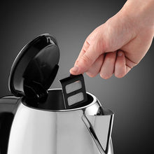 Load image into Gallery viewer, Russell Hobbs Classic Compact 1 Litre Stainless Steel Kettle 24990