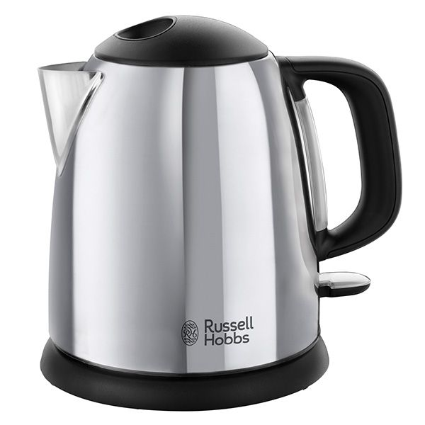 Russell Hobbs Classic Compact 1 Litre Stainless Steel Kettle 24990