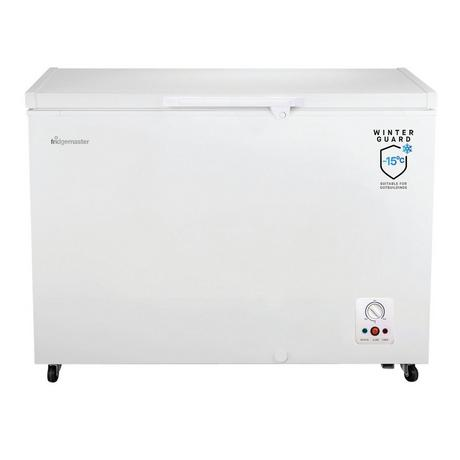 Fridgemaster MCF306 112.5cm Static Chest Freezer - White - A+ Energy Rated