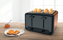 Load image into Gallery viewer, Bosch TAT4P449GB 4 Slice Toaster - Copper