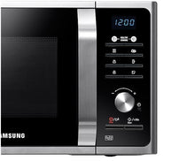 Load image into Gallery viewer, Samsung MS23F301TAS Compact Microwave Oven in Silver Tact, 23L 800W