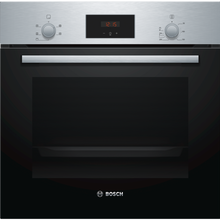 Load image into Gallery viewer, Bosch HHF113BR0B S/Steel 3D Hot Air Fan Assisted Single Oven